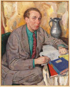 Portret van Ysbrand Hiddes Galema (1908-1989)