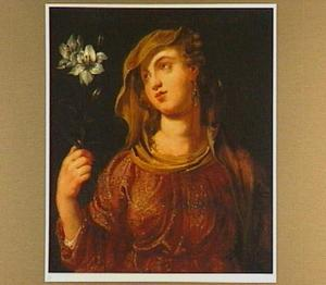 Portret van keizerin Eusebia, vrouw van keizer Constantius