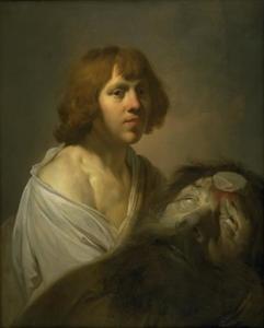 David met het hoofd van Goliat  (1 Samuel 17:48-55)