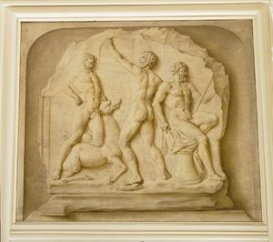 """Drie werken van Hercules waaronder """"Het Arcadische Hert"""" en """"De Stymphalische vogels"""""""