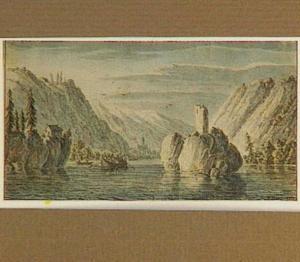 Gezicht op de Donau