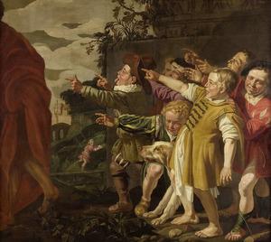 De bespotting van Elisa door de kinderen (2 Koningen 2:24-25)