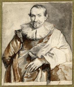 Portret van Jan Wildens (....-1653)