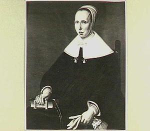 Portret van Anna Steenhuys van Rijp (1604-1663), echtgenote van Isaac van 's Gravesande