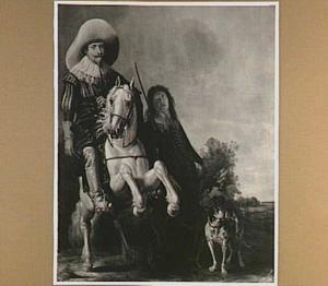 Ruiterportret van Prins Frederik Hendrik (1584-1647)