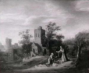 Elia en de weduwe van Sarefat  (1 Koningen 17:10)