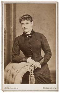Portret van Cornelia Wilhelmina van Vollenhoven (1864-1954)
