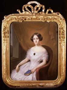 Portret van Aletta Cornelia Anna Voombergh (1828-1913)