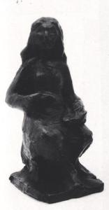 Portret van Annlies Marie Frank (1929-1945)