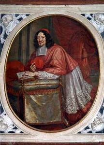 Portret van Max Gandolph von Kuenburg (1622-1687), aartsbisschop van Salzburg en kardinaal