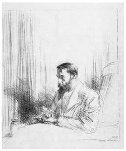 De kunsthandelaar Elbert Jan van Wisselingh