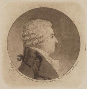 Portret van Benjamin de Brueys (1742-1825)
