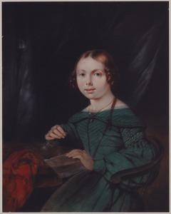 Portret van een meisje, mogelijk Jonkvrouw Eilisabeth Joahnna Daniëlle Pieternella Joanna de Mauregnault (1829-1892)