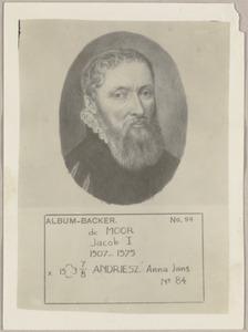 Portret van Jacob de Moor (1507-1575)