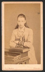 Portret van Elizabeth Maria Cornelia Conrad (1862-1926)