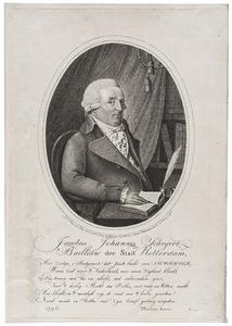Portret van Jacobus Johannes Schrijver (1755-1828)