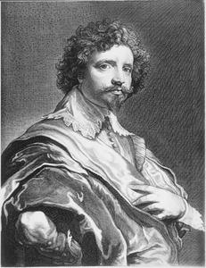 Portret van de graveur Michel Le Blon