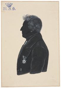 Portret van Cornelis Johannes van Heusden (1792-1872)