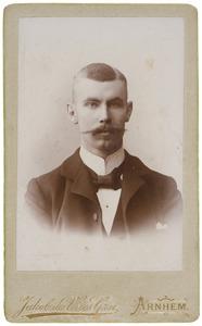 Portret van Marius Albert van der Haer (1874-...)