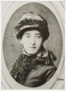 Portret van Georgine Elisabeth Schwartze (1854-1935)