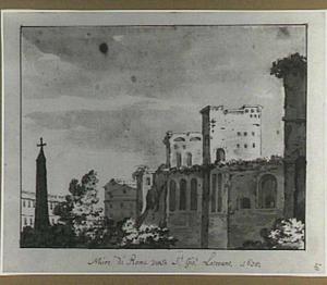 Aureliaanse stadsmuur te Rome