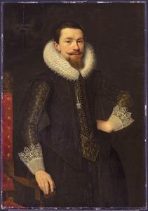 Portret van Pieter Boudaen Courten (1594-1668)