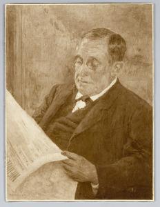 Portret van G. Birnie (schoonvader van de kunstenaar)