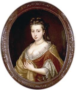 Portret van Lea Aldringa (1668-1724), echtgenote van Willem Alberda