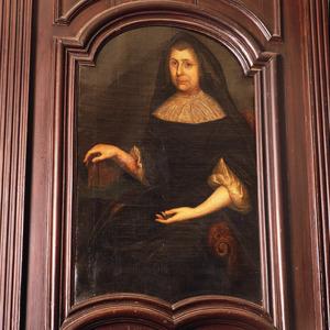 Portret van onbekende weduwe