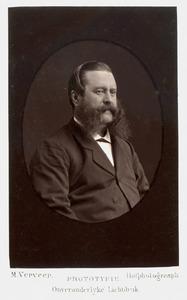 Portret van Augustus Josephus Aloysius van Rijckevorsel (1819-1892)