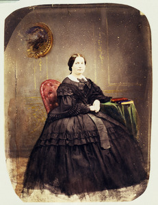 Portret van Francoise Margaretha van Weede (1823-1899)
