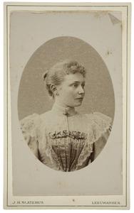 Portret van Tietje Reitsma (1874-1940)