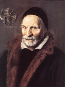 Portret van Jacobus Hendricksz. Zaffius (1534-1618)