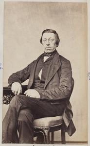 Portret van een man, waarschijnlijk Nicolaas Jacobus Kiers (1814/1815-1880)