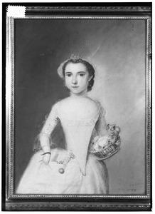 Portret van Florentine van Woerkom (1719-1771)