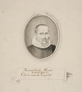 Portret van Bernard de Moor (....-1666)