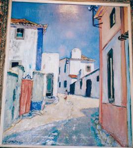 Straatje in Portugal