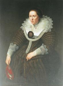 Portret van een vrouw, mogelijk Emerentia van Ravenswaey (?-1634)