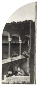 Twee herders (fragment van een Aanbidding van de Wijzen)