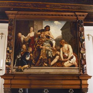 Koning Zaleucus laat zich een oog uitsteken