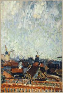 Zaagmolens bij Amsterdam