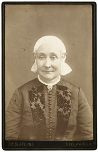 Portret van Elizabeth Douwes Wadman (1837-1914)