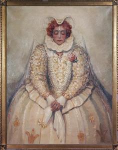 Portret van Else Mauhs (1885-1959)