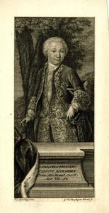 Portret van Karl Alexander Markgraf von Brandenburg-Ansbach-Bayreuth (1736-1806), op zevenjarige leeftijd