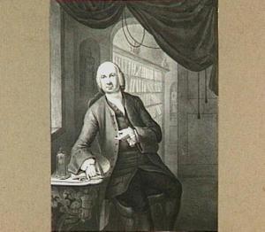 Portret van Conradus Zumbag de Koesfelt (1697-1780)