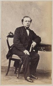 Portret van Edward Bernard Gunning (1836-1905)
