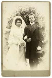 Portret van Antoni Willem Hartman (1878-1960) en Cornelie Marie Engelbrecht (1879-1950)