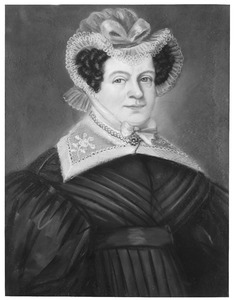 Portret van Theodora Carolina Romer (1781-1860)