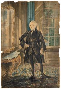 Portret van Christiaan Schuller (1735-1822)