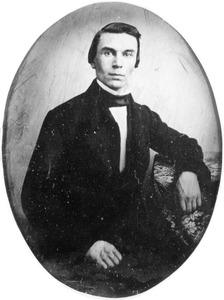 Portret van Jan Gerrit Gabriel Moorrees (1834-1907)